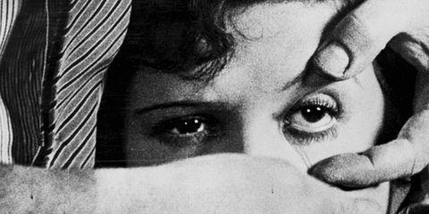 Lip, Skin, Eyebrow, Eyelash, Monochrome photography, Style, Iris, Monochrome, Organ, Black-and-white,