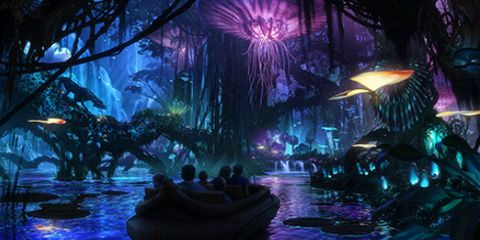 Purple, Darkness, Animation, Violet, World, Lavender, Cg artwork, Fictional character, Painting, Water transportation,