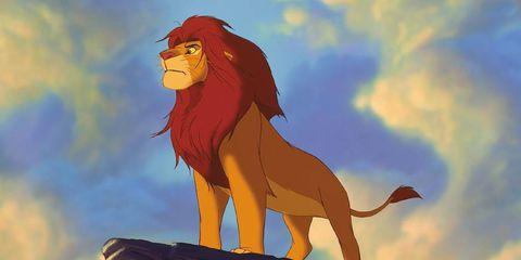 Lion, Terrestrial animal, Animation, Carnivore, Art, Masai lion, Tail, Extinction, Red hair, Illustration,