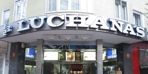 Commercial building, Retail, Door, Fixture, Signage, Outlet store,