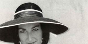 Hat, Style, Fashion accessory, Sun hat, Headgear, Costume accessory, Black, Beauty, Monochrome photography, Pattern,