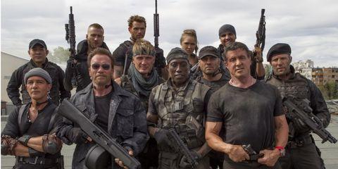 Soldier, Military uniform, Social group, Gun, Firearm, Team, Squad, Uniform, Marines, Troop,