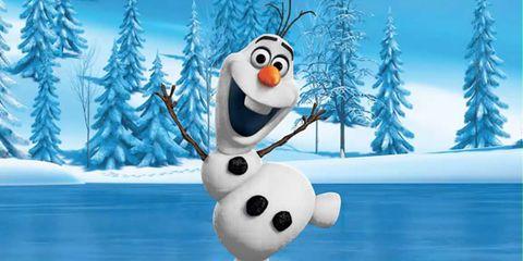 Blue, Winter, Snowman, Toy, Snow, Freezing, Animation, Evergreen, Conifer, Ice cap,
