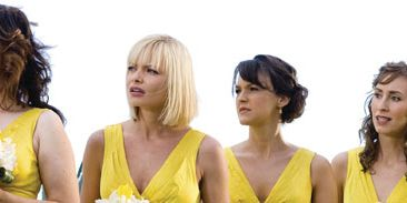 Yellow, Hairstyle, Chin, Shoulder, Photograph, White, Formal wear, Style, Beauty, Fashion,