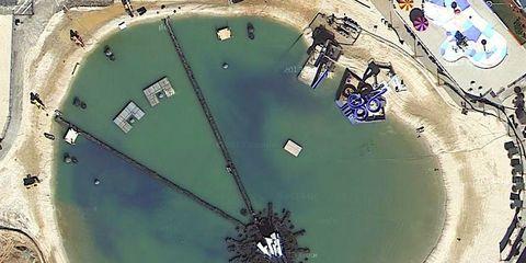 Aerial photography, Island, Coast, Urban design, Bird's-eye view, Bay, Artificial island,