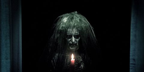 Darkness, Fictional character, Facial hair, Costume, Fiction, Candle, Demon, Ghost,