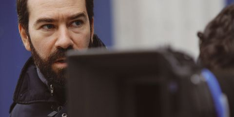 Collar, Beard, Facial hair, Moustache, Personal computer hardware, Computer hardware, Output device, Computer, Computer accessory, Leather,