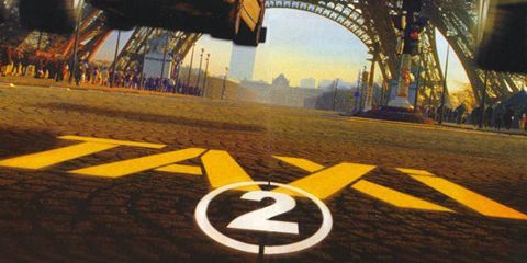 Mode of transport, Yellow, Infrastructure, Amber, Games, Arch, Sign, Race track, Pc game, Symbol,