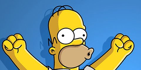 Finger, Yellow, Elbow, Hand, Animation, Animated cartoon, Thumb, Pleased, Clip art, Graphics,