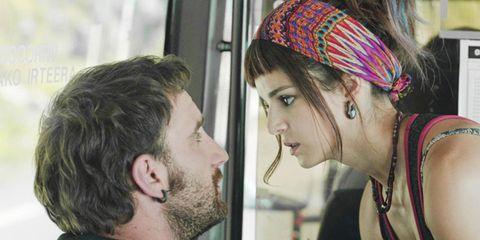 Face, Ear, Mouth, Cheek, Hairstyle, Eye, Chin, Forehead, Facial hair, Eyebrow,