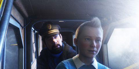 Nose, Ear, Mouth, Transport, Eye, Shirt, Collar, Passenger, Dress shirt, Beard,