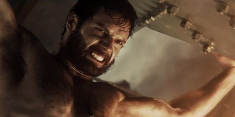 Skin, Jaw, Muscle, Temple, Chest, Barechested, Trunk, Movie, Pleased, Wrinkle,