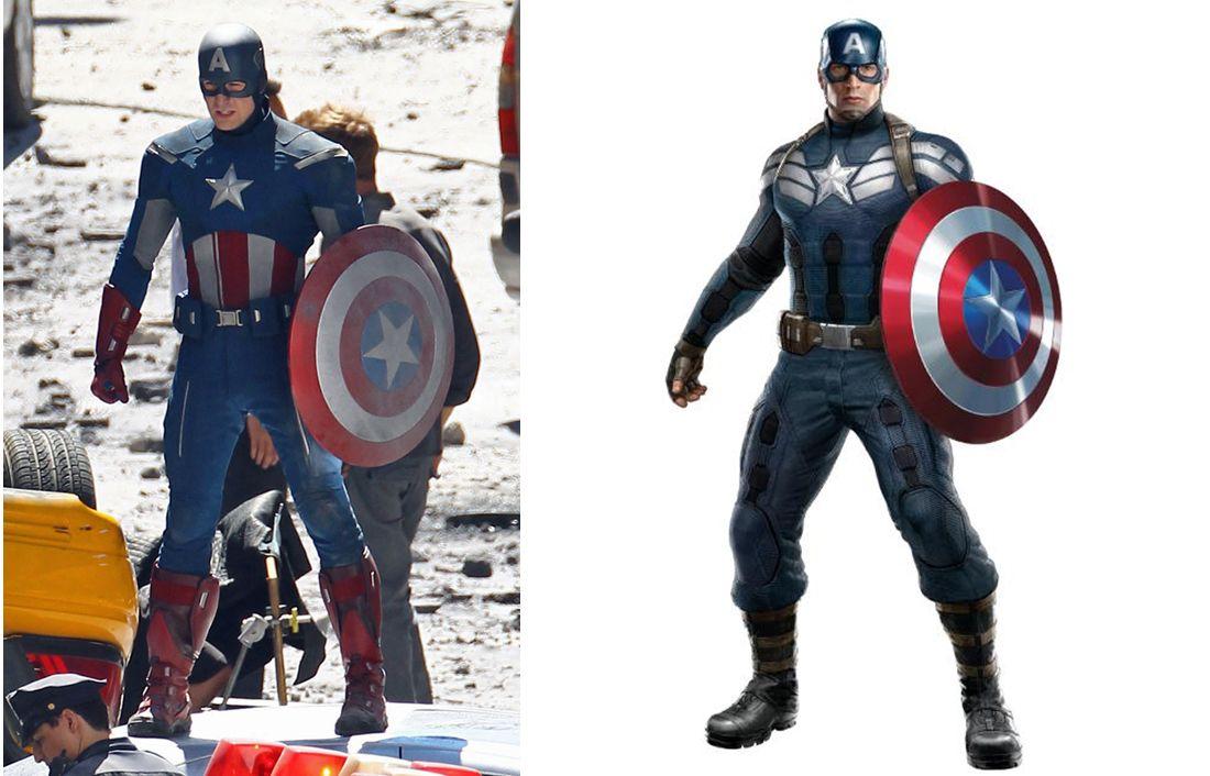 El Capitán América estrena traje