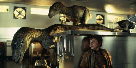 Vertebrate, Sculpture, Jaw, Art, Wall clock, Terrestrial animal, Extinction, Museum, Statue, Dinosaur,