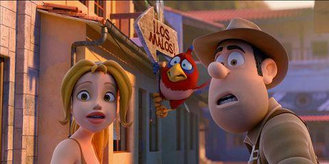 Animation, Hat, Animated cartoon, Cartoon, Fiction, Fictional character, Fedora, Costume hat, Humour,