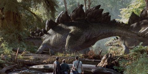 Dinosaur, Terrestrial plant, Biome, Forest, Wilderness, Jungle, Fluvial landforms of streams, Extinction, Creek, Ankylosaurus,