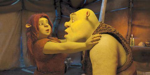 Yellow, Interaction, Temple, Animation, Scene, Fiction, Love, Mythology, Throat, Fictional character,