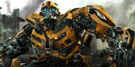 Yellow, Technology, Machine, Black, Orange, Mecha, Fictional character, Robot, Symmetry, Transformers,