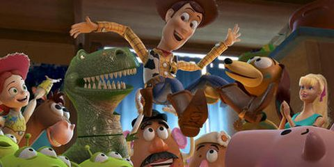 Animation, Animated cartoon, Cartoon, Fictional character, Fiction, Gesture, Toy,