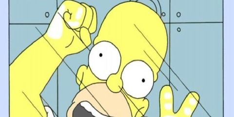 Finger, Yellow, Animation, Animated cartoon, Interaction, Cartoon, Gesture, Thumb, Fiction, Graphics,