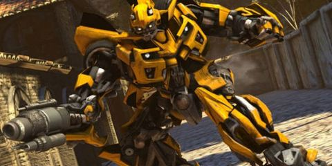 Yellow, Technology, Amber, Machine, Animation, Mecha, Robot, Fictional character, Video game software,