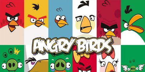 Yellow, Green, Vertebrate, Bird, Beak, Orange, Animation, Font, Fictional character, Clip art,