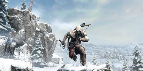 Soldier, Snow, Adventure, Military person, Action-adventure game, Marines, Air gun, Outcrop, Shotgun, Animation,