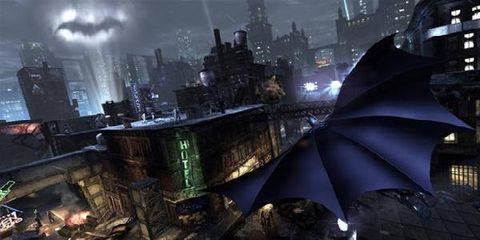 Metropolis, Cityscape, Fictional character, World, Tower block, Cg artwork, Animation, Painting, Video game software, Action-adventure game,