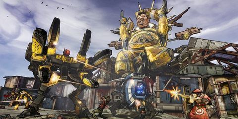 Fictional character, Machine, Mecha, Games, Action-adventure game, Cg artwork, Armour, Illustration, Robot, Video game software,