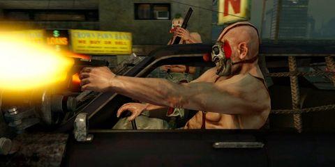Hand, Shooting, Shooter game, Wrist, Muscle, Shotgun, Chest, Revolver, Air gun, Back,