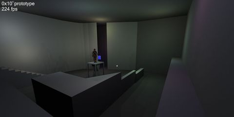 Grey, Animation, Space, Hall, Digital compositing, 3d modeling, Silver, Desk, Video game software,