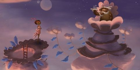 Animation, Art, Animated cartoon, Space, Astronomical object, Illustration, Teddy bear, Moonlight, Still life photography, Cg artwork,