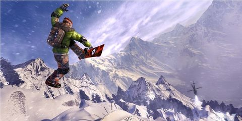 Mountain, Mountain range, Fictional character, Snow, Animation, Glacial landform, Slope, Summit, Space, Outer space,
