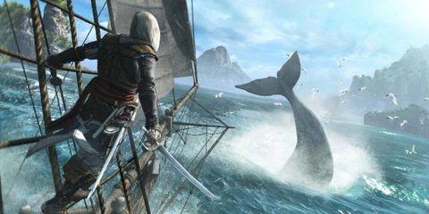 Marine mammal, Ocean, Cetacea, Fin, World, Whale, Dolphin, Marine biology, Cg artwork, Common dolphins,