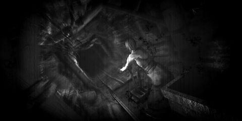 Darkness, Monochrome, Monochrome photography, Black-and-white, Visual arts, Fictional character, Animation, Fiction, Cg artwork, Graphics,