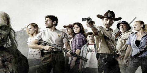 People, Social group, Hat, Youth, Shotgun, Air gun, Costume accessory, Cowboy hat, Fedora, Band plays,