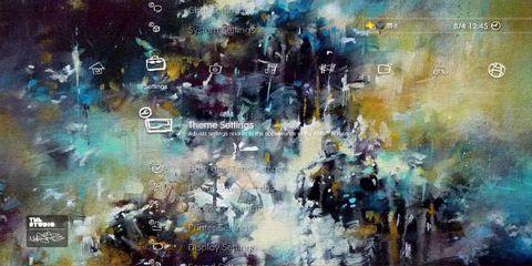Blue, Colorfulness, Art, World, Paint, Art paint, Space, Artwork, Visual arts, Modern art,