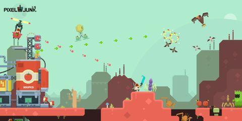 Red, Orange, Animation, Illustration, Graphics, Wing, Pollinator, Skyline, Graphic design, Clip art,