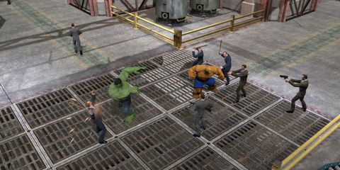 Parallel, Games, Pc game, Composite material, Construction, Action-adventure game, Fictional character, Digital compositing, Video game software, Concrete,