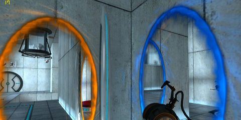 Azure, Majorelle blue, Arch, Iron, Gas, Games, Pc game, Video game software, Digital compositing, Cg artwork,