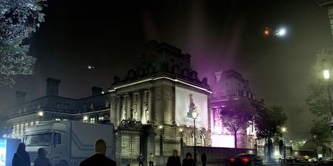 Night, Midnight, Astronomical object, Atmospheric phenomenon, Travel, Metropolis, Electricity, Pedestrian, Street light, Moonlight,