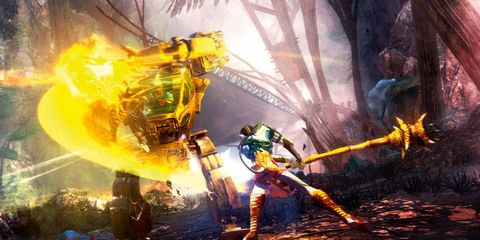 Action-adventure game, Cg artwork, Games, Fictional character, Pc game, Adventure game, Video game software, Fire, Flame, Strategy video game,