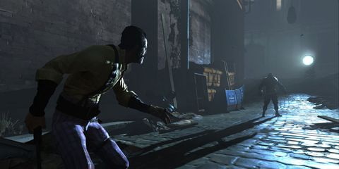 Fictional character, Shooter game, Action-adventure game, Games, Darkness, Pc game, Animation, Adventure game, Video game software, Digital compositing,