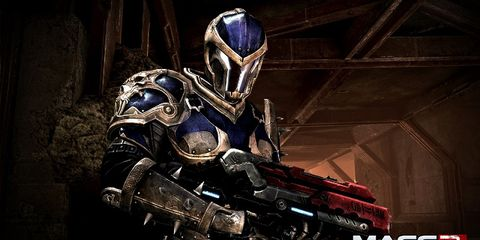 Fictional character, Armour, Personal protective equipment, Mecha, Technology, Robot, Games, Breastplate, Machine, Pc game,