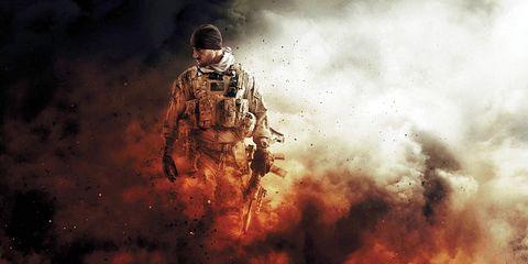 Soldier, Military person, Army, Marines, Military, Gunshot, Military organization, Infantry, Law enforcement, Air gun,