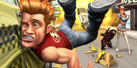 Animation, Animated cartoon, Cartoon, Fictional character, Muscle, Glove, Fiction, Thumb, Toy, Graphics,