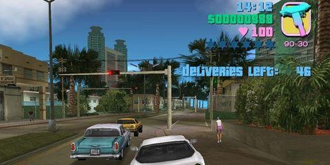 Vehicle, Automotive parking light, Street light, Car, Alloy wheel, Games, Sedan, Motorsport, Pc game, Mid-size car,