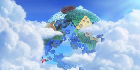 Blue, Daytime, Cloud, Atmosphere, Colorfulness, Cumulus, Azure, World, Electric blue, Meteorological phenomenon,