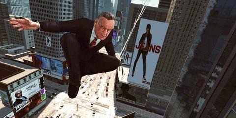 Human leg, Metropolitan area, Tower block, Metropolis, Games, Commercial building, Pc game, Video game software, Fictional character, Condominium,