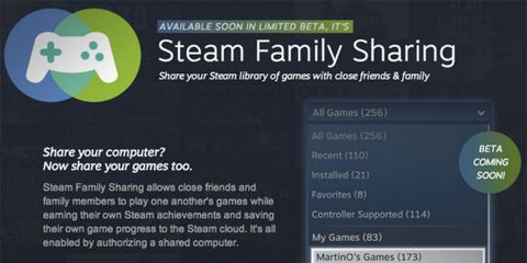 Steam Family Sharing Permite Compartir Los Juegos Disponibles En Steam